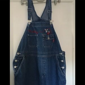 Woman's XL Mickey Unlimited Overalls
